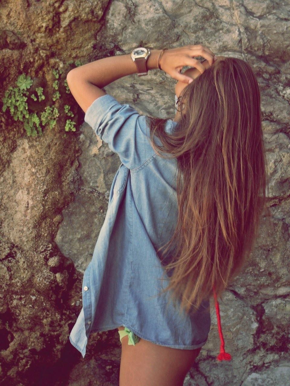 Картинки на аву в вк для девушек с русыми волосами